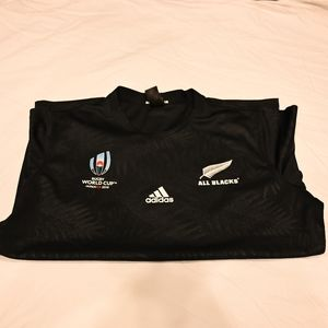 Adidas All Blacks Authentic Rugby World Cup Japan